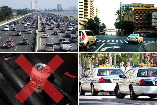 日本と異なるハワイの交通ルール